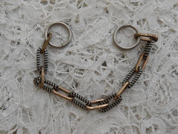 Antique chain 1910 by Nkempantiques on Etsy, €10.00
