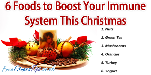 6 Foods to Boost Your Immune System This Christmas