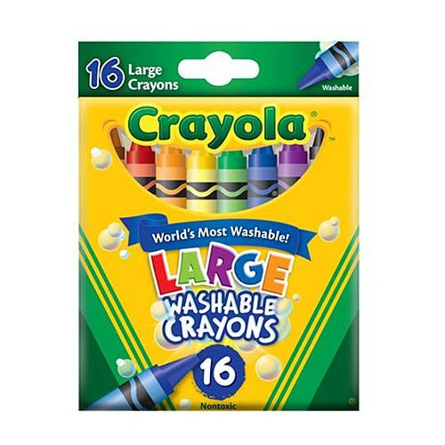 Crayola 16 Count Large Washable Crayons Gift Ideas For Weston