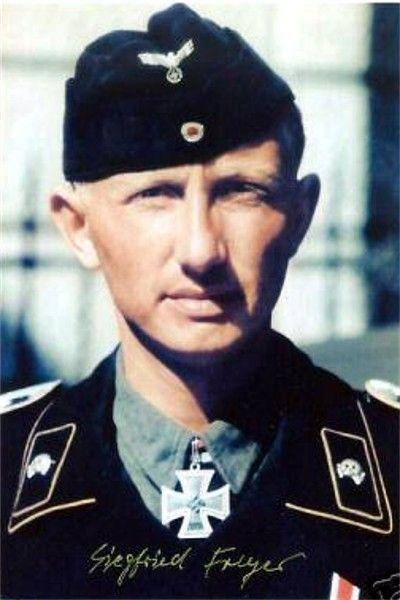 Siegfried Freyer (11 February , 1917) | Военнослужащие ...
