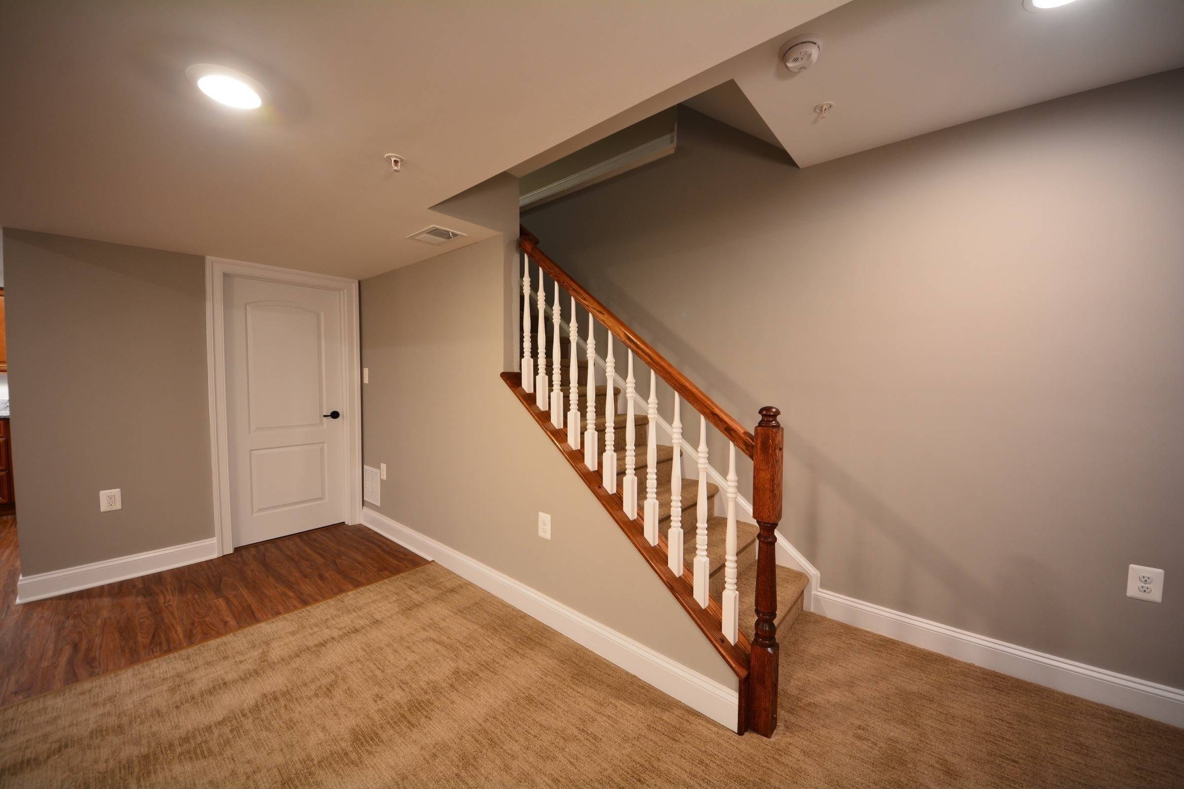 Basement Stairs Ideas Stair Railings And Half Walls Ideas Basement Stairs