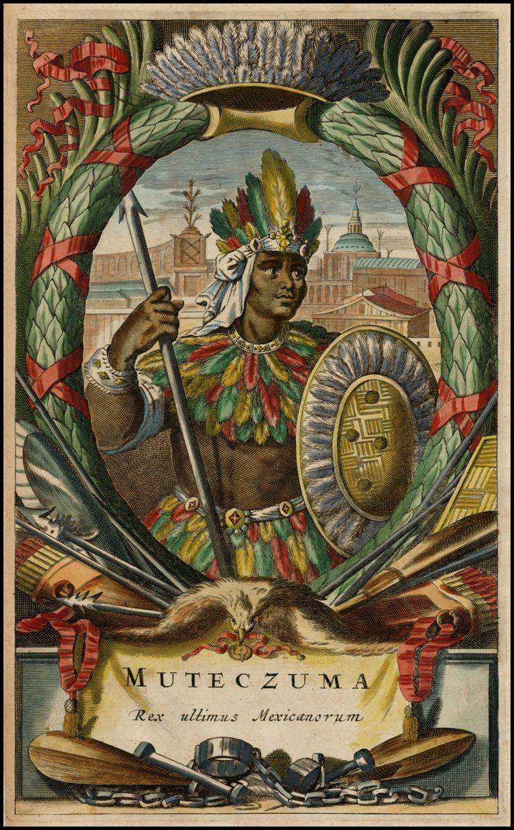 Muteczuma Rex ultimis Mexicanorum Barry Lawrence