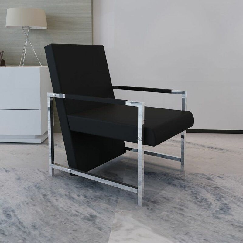 Abington Artificial Leather Cube Relax Armchair In 2020 Living