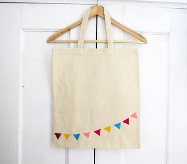my #bunting #tote #bags are back in stock! <3