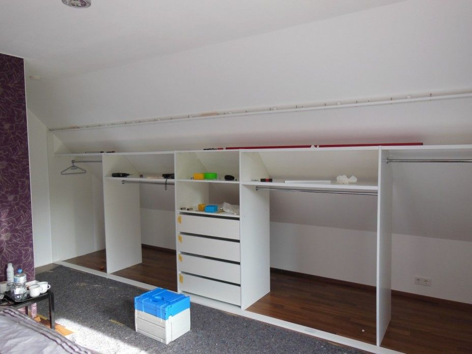 Small space or eaves closet - KLEIDERSCHRANK II | For the Home ...