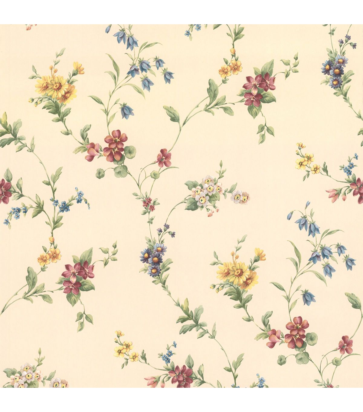 yelena floral trail wallpaper