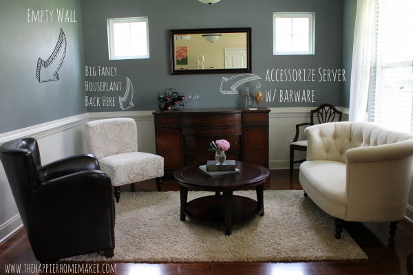 Sitting Room Makeover The Happier Homemaker Diy Home Dining