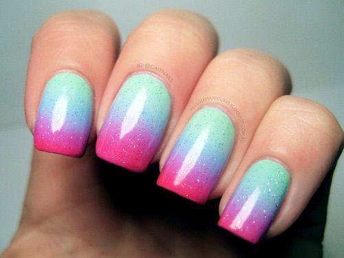 Image via We Heart It #art #beauty #colorful #cool #nail #nice #weheartit #nailart