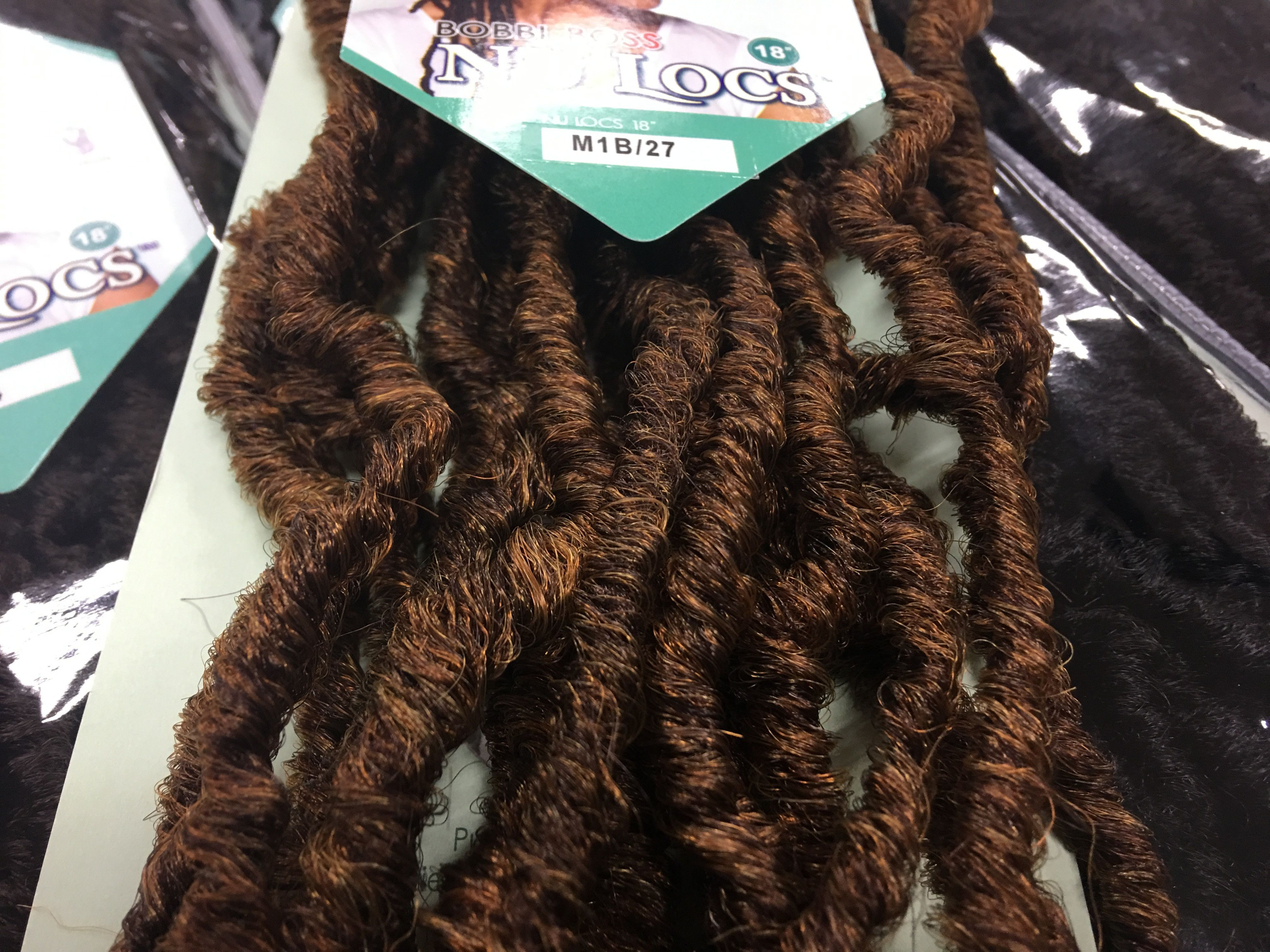 Nu Locs 18 African Roots Synthetic Crochet Braid Hair By Bobbi Boss