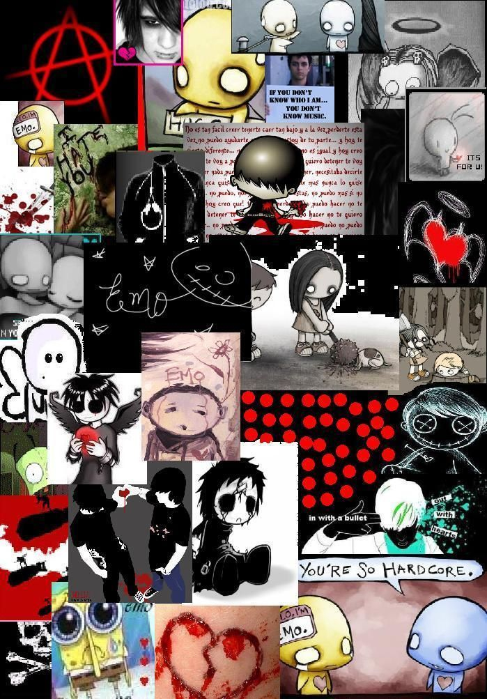Emo Wallpaper Emo Wallpaper Emo Cartoons Emo Art