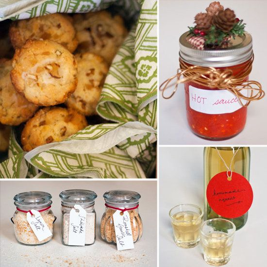 48 HOMEMADE IDEAS FOR EDIBLE GIFTS! 																																											If you're looking for a last minute gift to give to a loved one, why not go for something homemade and delicious? Many of these are quick and easy recipes that will impress all of your friends and family.