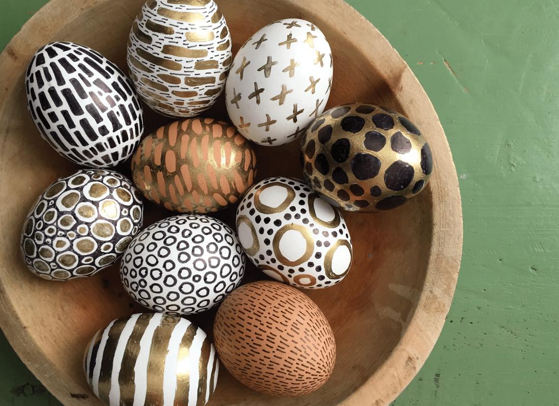 Photo of Easter Egg Design Ideas – Original and Easy
