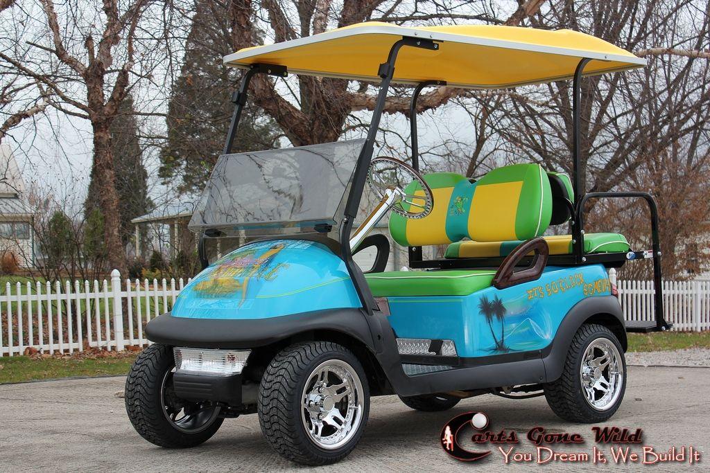 Another Margaritaville!!! | Custom golf carts, Golf, Golf ...  |Margaritaville Golf Cart Craigslist
