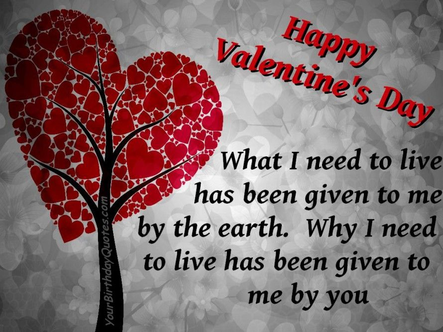 Love Quotes Valentines Day Entrancing Happy Valentine's Day Quotes  Happyvalentinesdayquoteslove