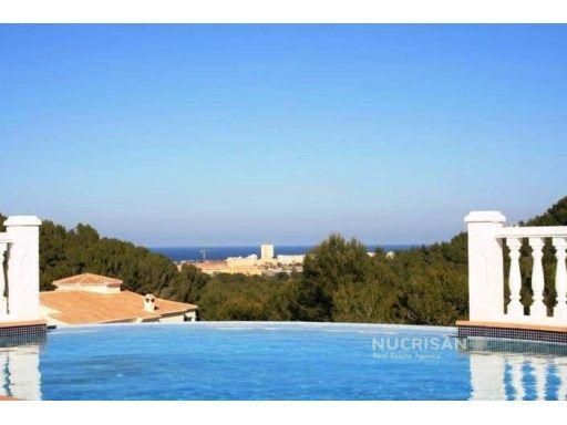 Preciosa Villa con vistas al mar en Javea Alicante Costa Blanca | 3 Habitaciones
