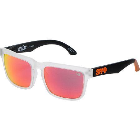 203e07fab Spy Sunglasses Helm Ken Block Grey & Orange Sunglasses | Graduation ...