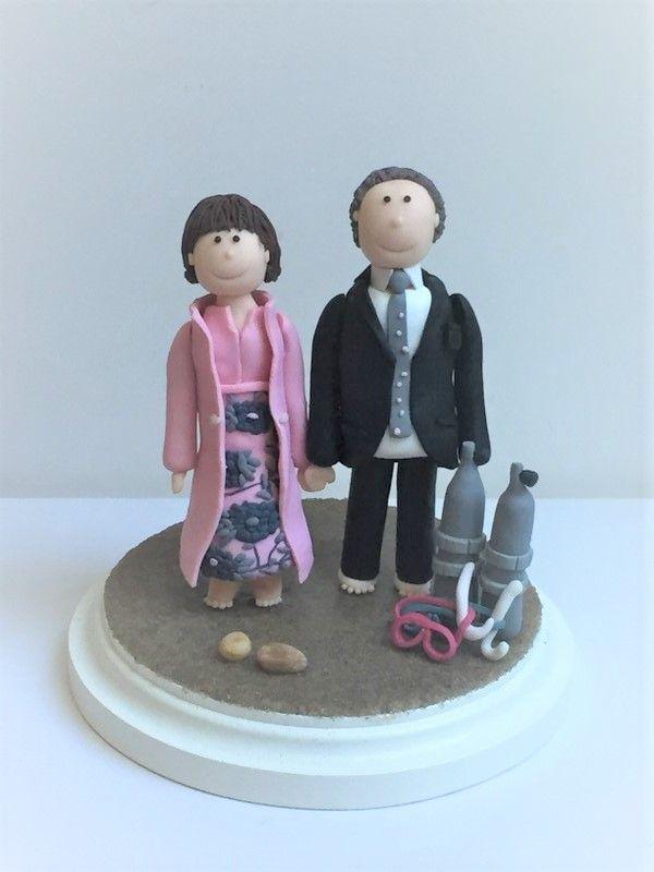 Strandhochzeit - individuelle Hochzeitsfiguren #