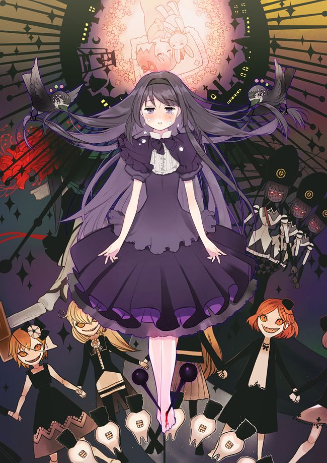 Kaname Madoka, by Kissai > anime art in 2020 Madoka
