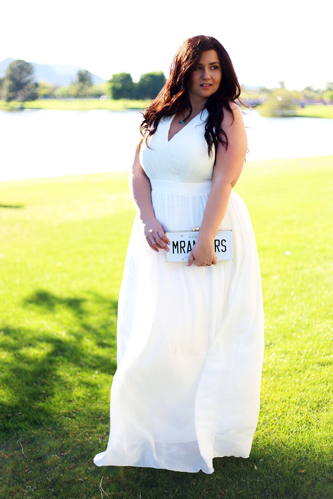 Plus size princess wedding gown dress whimsical white dress wedding