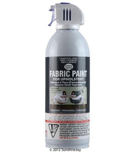 Upholstery Spray Fabric Paint 8oz Charcoal Grey Fabric Spray Paint Upholstery Fabric Spray Paint Fabric Spray