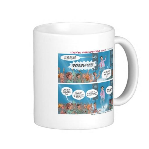 Out Of Touch #LifeCoach #mug by @LTCartoons #zazzle #humor #funny #coffee #gift #sale