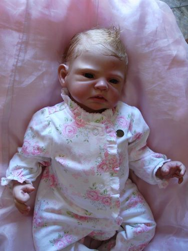 Reborn Baby Girl Romie Strydom Bronwyn Doll up for adoption... EXCEPTIONAL!!! | eBay