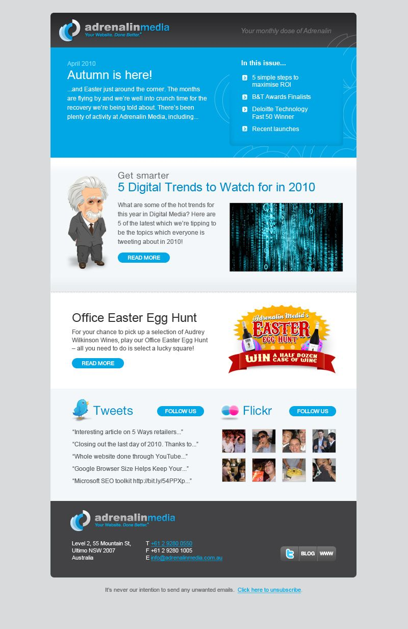 Microsoft Email Newsletter Template from i.pinimg.com