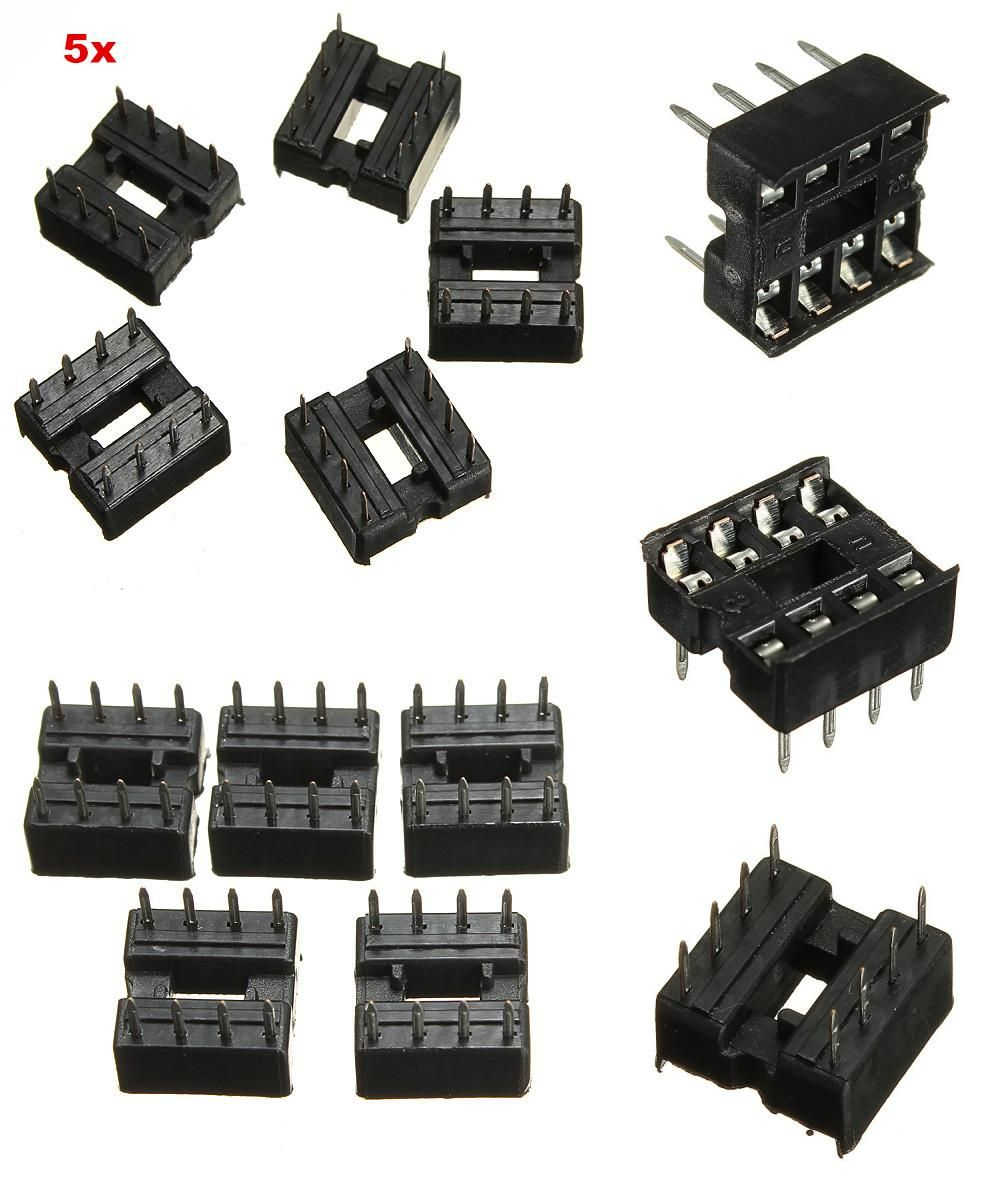 Visit To Buy 5 Pcs 8 Pins Socket For Ics Dip Integrated Circuit Where Sockets