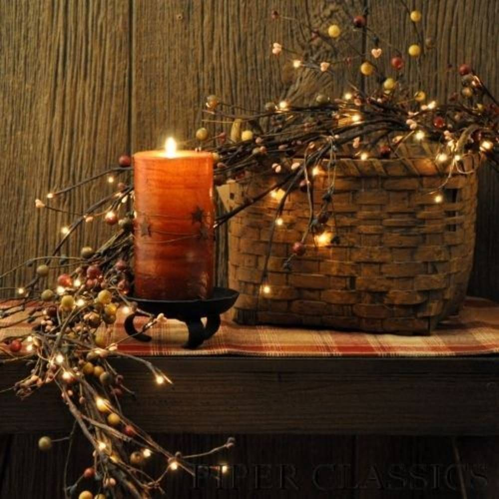 Willow Twig Electric Lit Garland
