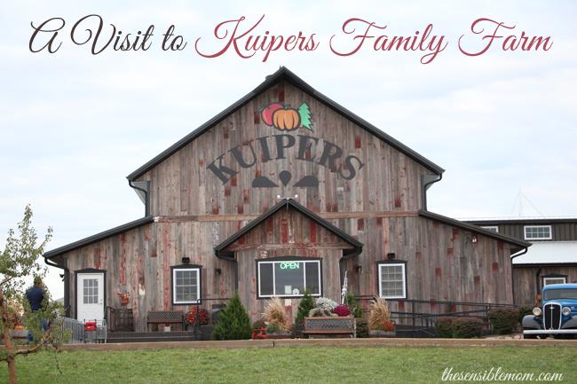 A Visit To Kuipers Family Farm The Sensible Mom Family Farm Farm House Styles