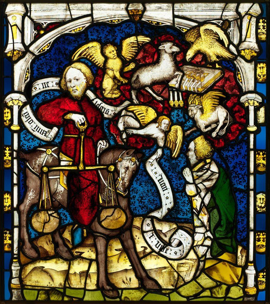 Витраж картинки средневековье