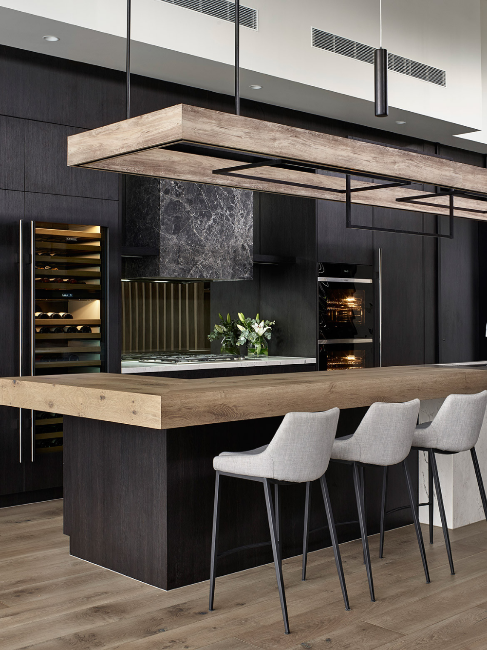 A Moody, Modern Kitchen Design By Maker + May | Modern ...