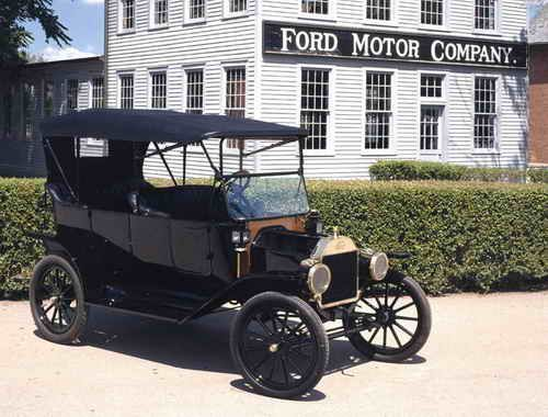 Ford Model T - Sept. Any color as long as itu0027s black. Voted the most influential car of the century. & Henry Ford produces Ford Model T in fall of 1908 | Homeru0027s Drive ... markmcfarlin.com