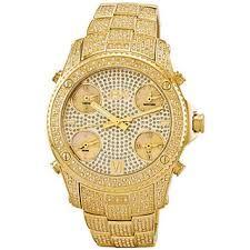 Resultado de imagen para relojes de oro y diamantes hombres