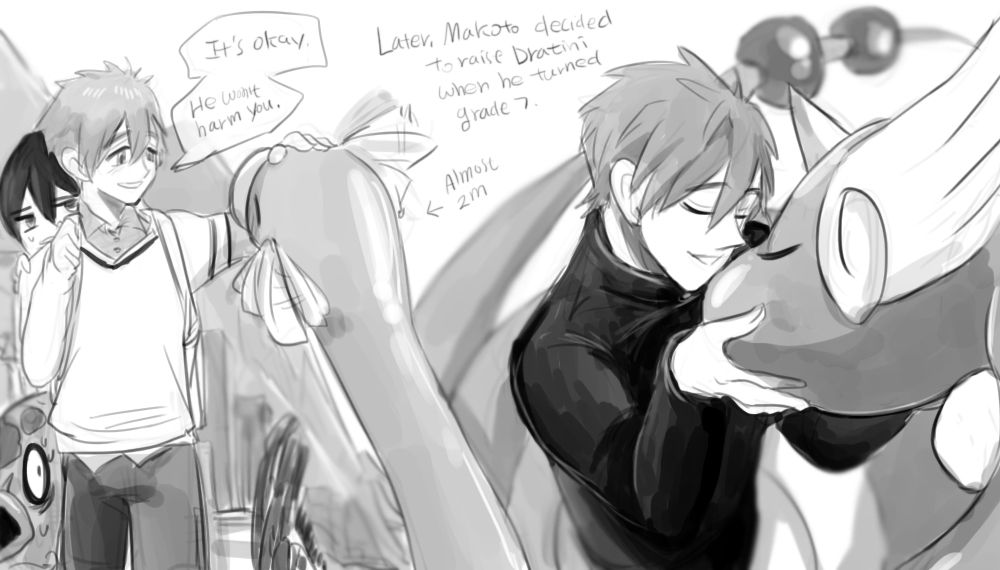 Story of Makoto and Dratini part 5 - diaemyung