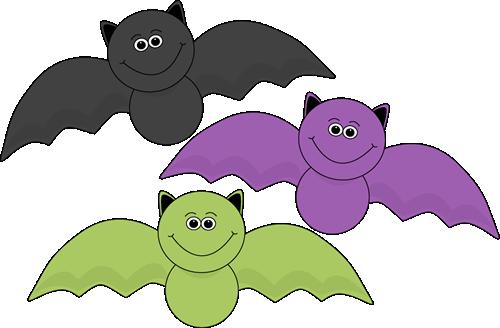 Colorful Halloween Bats | Halloween cartoons, Halloween clipart, Halloween  bats