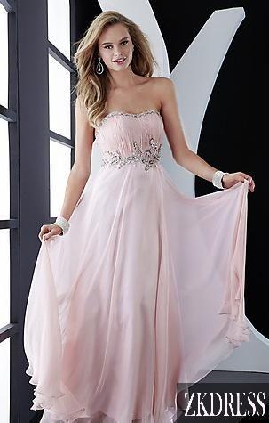 prom dresses prom dresses  light pink prom dress chiffon prom dress strapless prom dresses