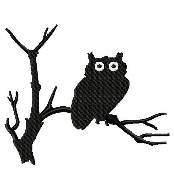 Download EmbroiderOcean Design | Owl silhouette ...