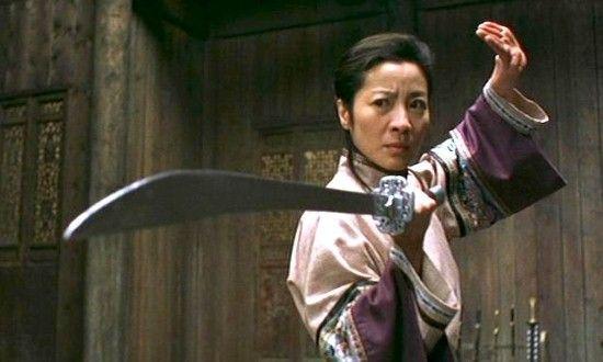 Crouching Tiger, Hidden Dragon (Ang Lee 2000) Zhang Ziyi, Michelle Yeoh, Chow Yun-Fat, Chang Chen, Chang Pei-Pei.