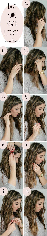 peinados sencillos para dominar tu cabello hair style hair