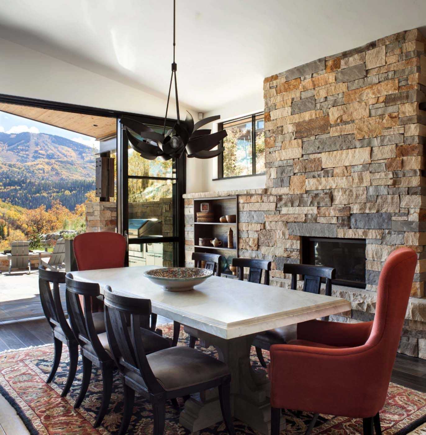 One Kindesign: Breathtaking Contemporary Mountain Home In Steamboat Springs