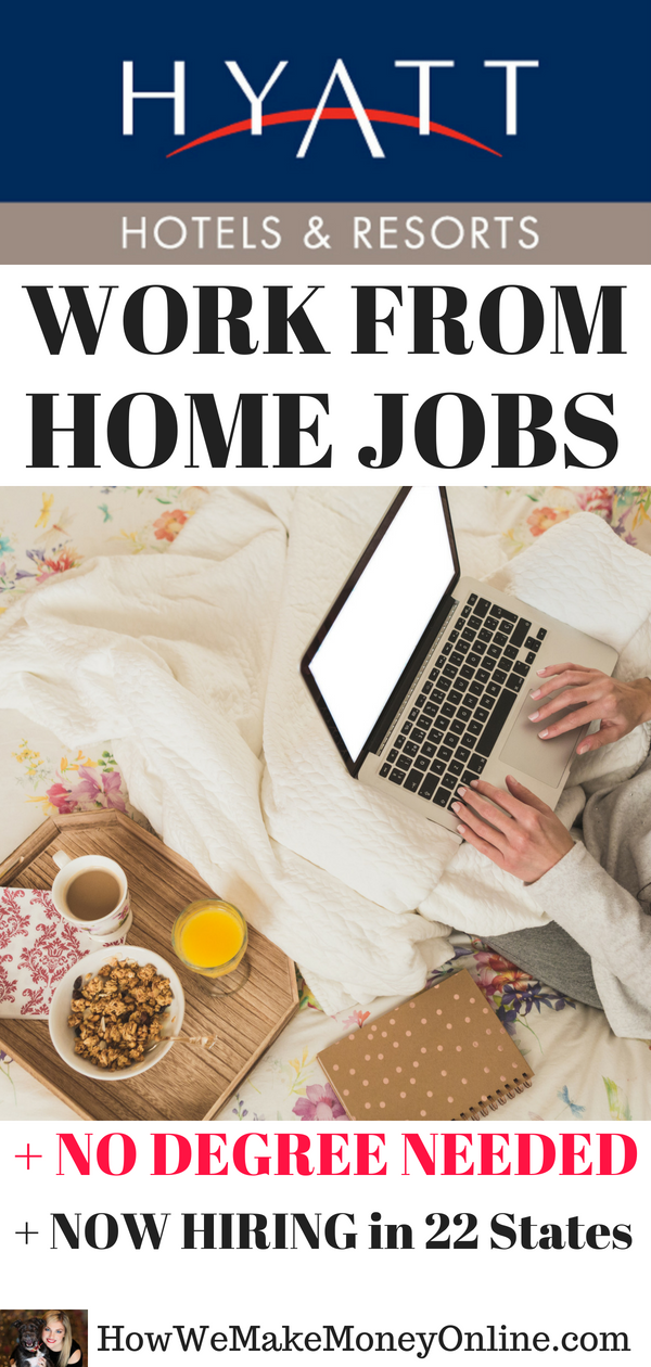 hyatt hotel is hiring work from home for summer travel season
