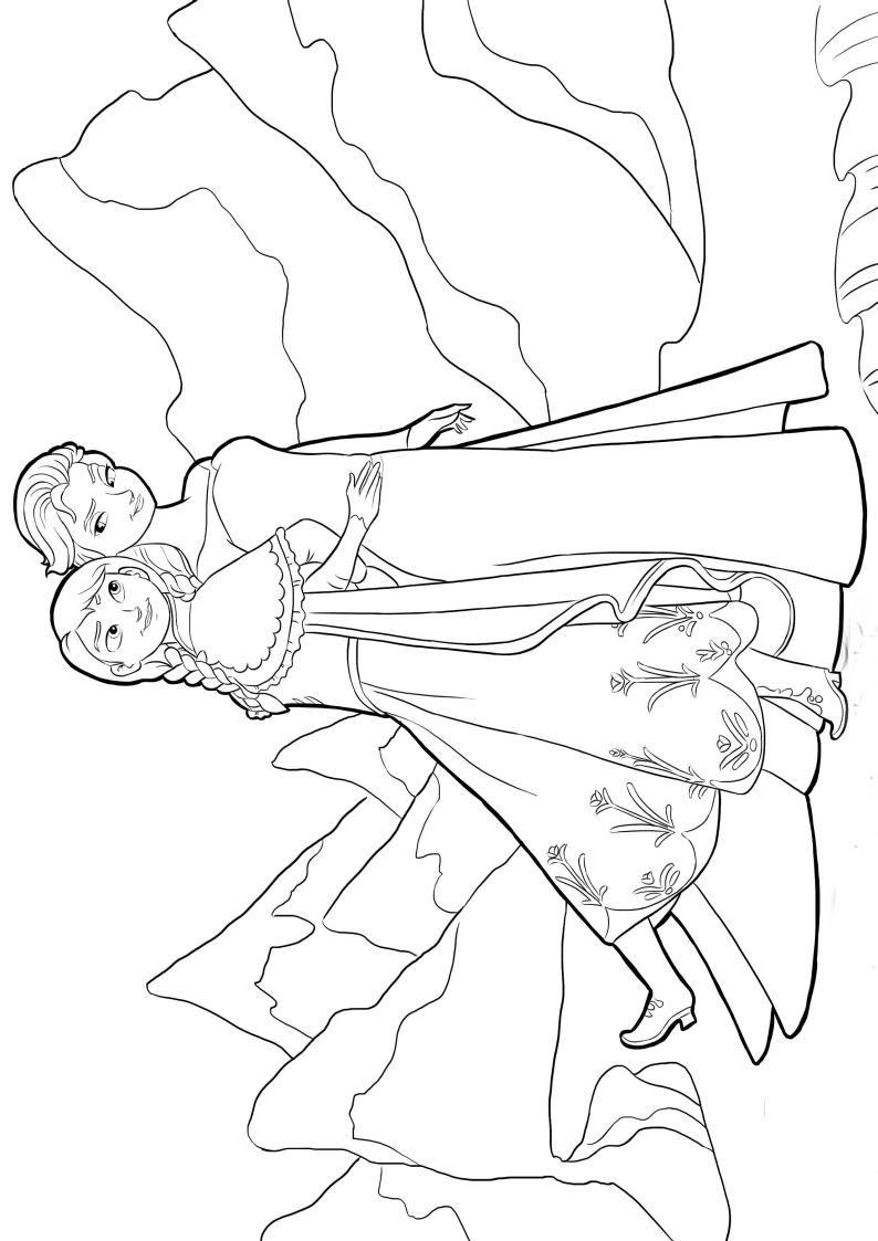 Kleurplaat Frozen Olaf Summer Kolorowanka Dla Dzieci Disney Kraina Lodu