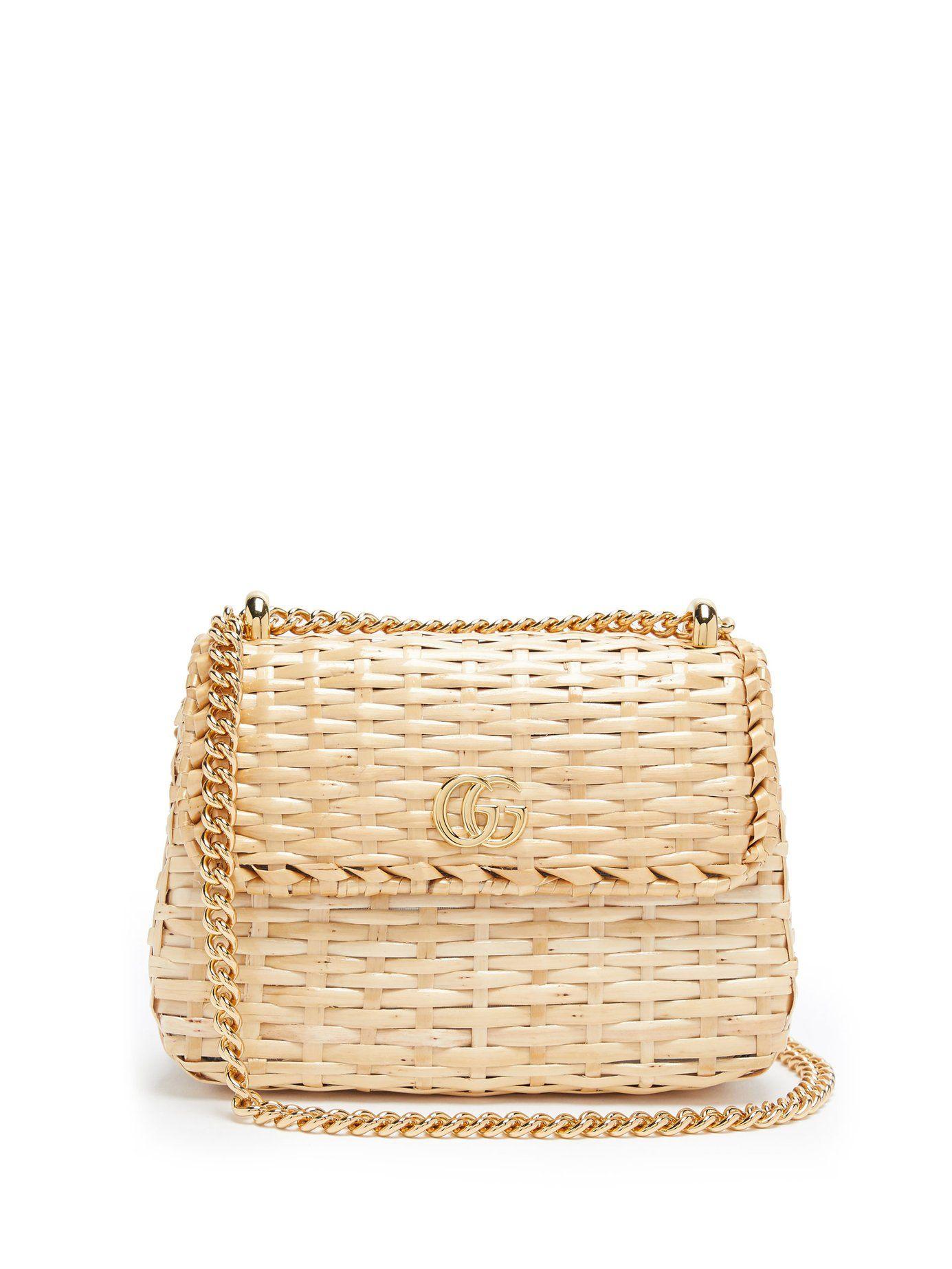 56a4df1ba8545a Cestino wicker cross-body bag | Gucci | MATCHESFASHION.COM US ...