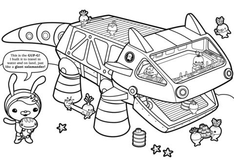 Tweak Presents The Gup G Coloring Page Cartoon Coloring Pages Coloring Pages Super Hero Coloring Sheets