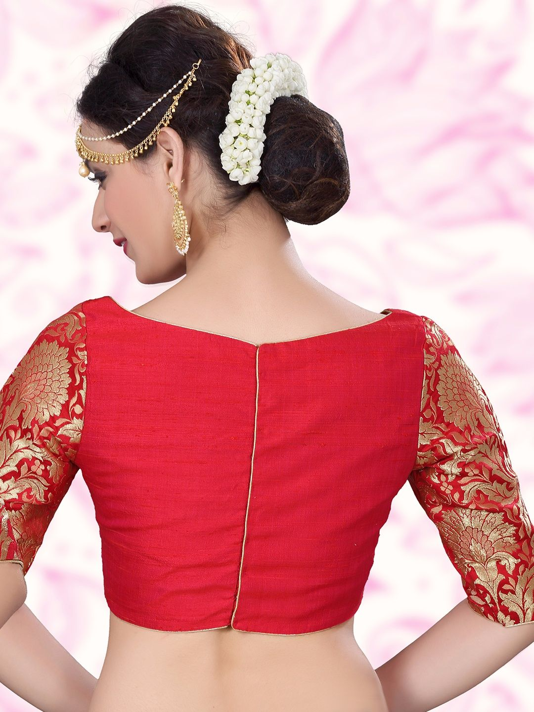 2c60d5090c2fb8 Shop Red nice designer raw silk ready made blouse online from G3fashion  India. Brand - G3, Product code - G3-RB0360, Price - 3495, Color - Red, ...