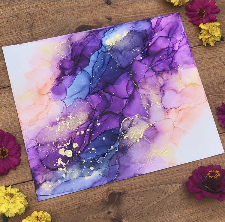 Artist Share Their Alcohol Ink Tips – Happily Ever Crafty #alcoholinkcrafts