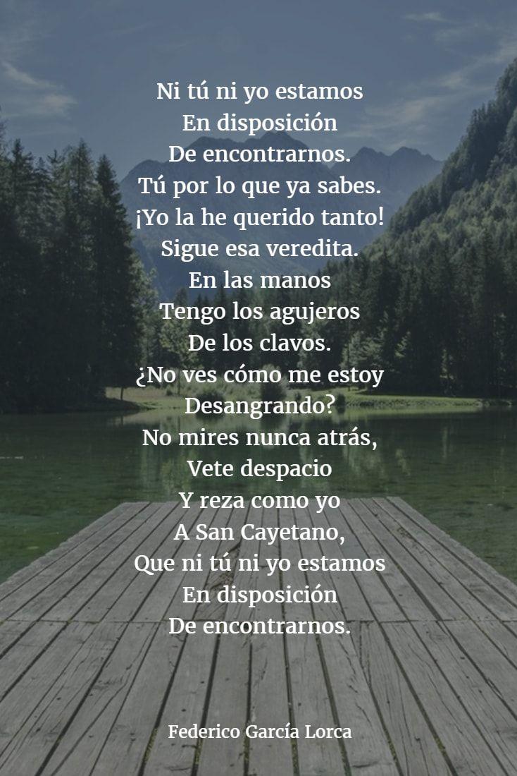 Poemas De Federico Garcia Lorca 7 Frases De Garcia Lorca Garcia Lorca Poemas Federico Garcia Lorca Frases