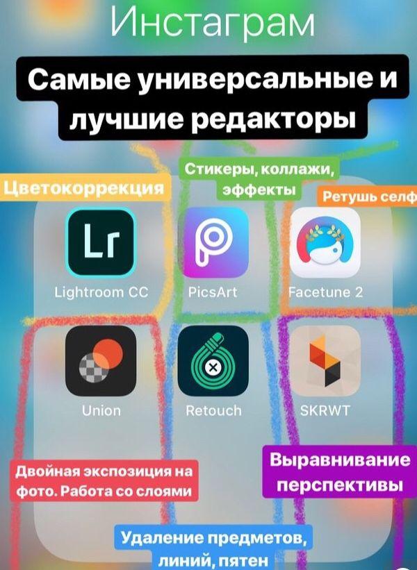 Универсальные редакторы Инстаграм | Инстаграм, Фотография ...