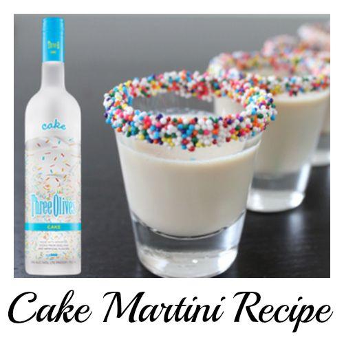 Cake Martini Recipe Random Pinterest Martinis Cake vodka and Cake